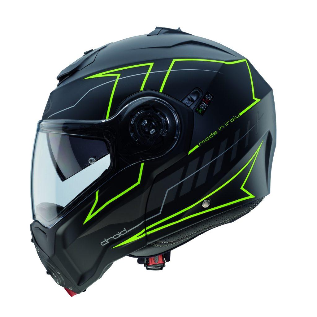 Caberg: arriva il casco apribile Droid Blaze