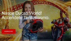 Ducati World Mirabilandia: Online il sito dedicato