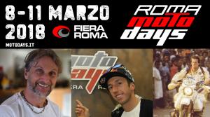 Roma MotoDays 2019: Fogarty, Cairoli e Auriol ti aspettano