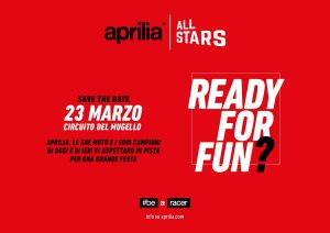 Tutto pronto per l'Aprilia All Stars