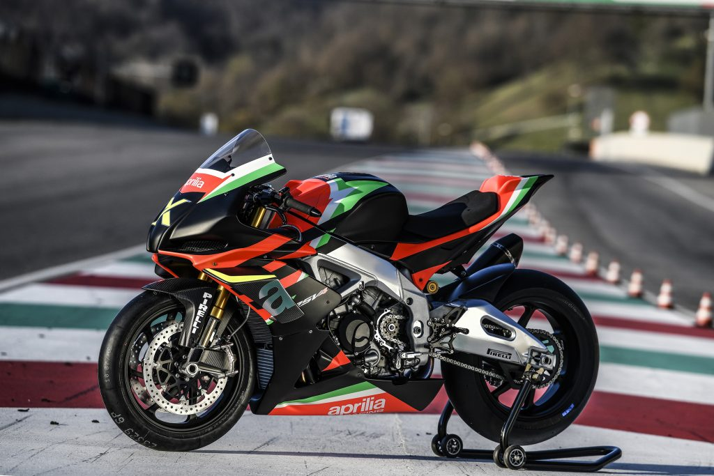 Aprilia RSV4 X: sold out in pochissime ore