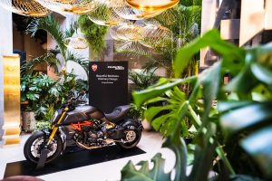 Ducati Diavel 1260 alla Milano Design Week