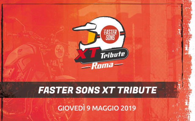 Yamaha Faster Sons XT Tribute: sbarca a Roma la competizione tra moto custom