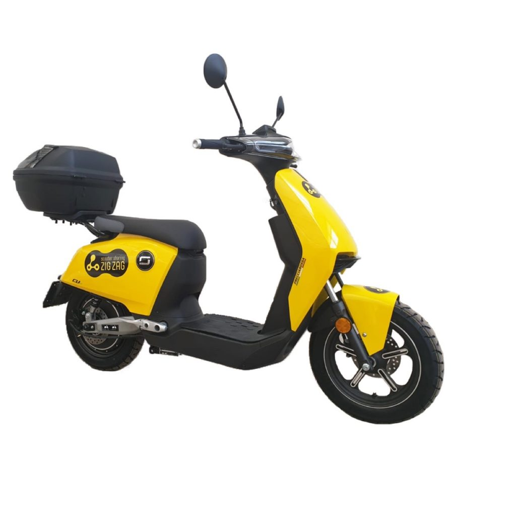 Zig Zag Scooter Sharing: 350 CUX elettrici nella flotta milanese