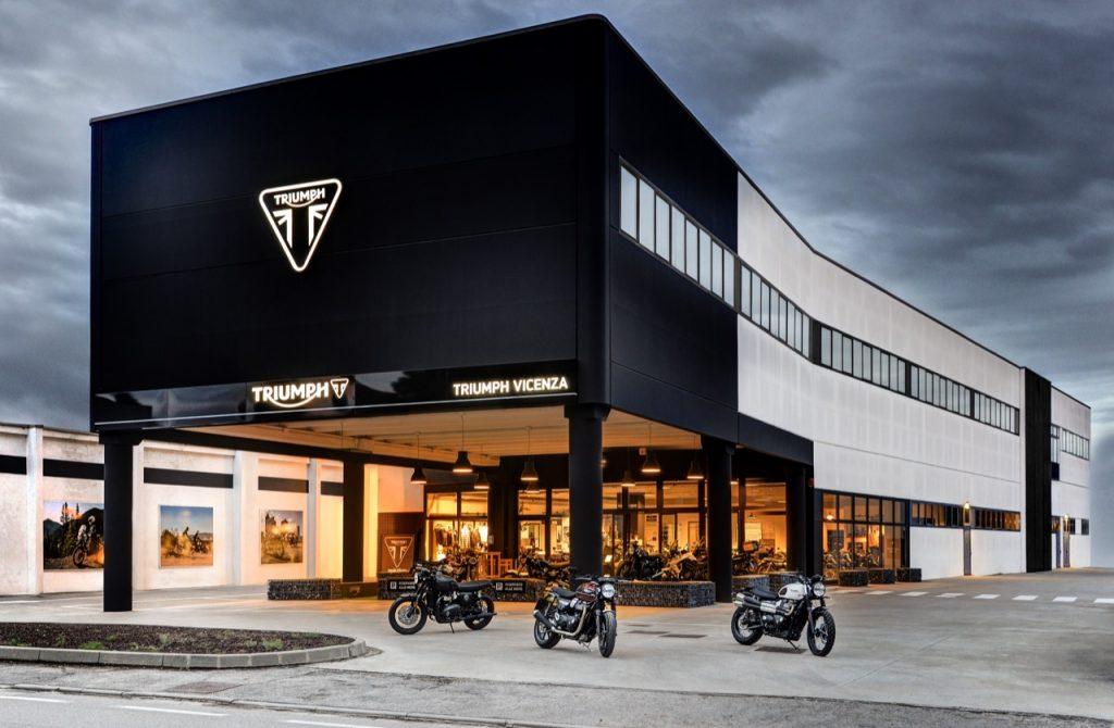 Triumph Vicenza: uno spazio rinnovato per conoscere il brand britannico