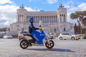 Cityscoot: prossimamente 500 scooter a Roma, altre aree coperte dal servizio