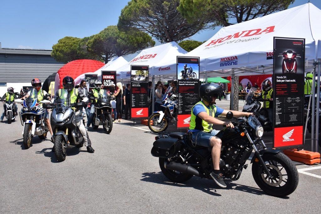 Honda Live Tour 2019: nuovo appuntamento tra i panorami di Sestriere