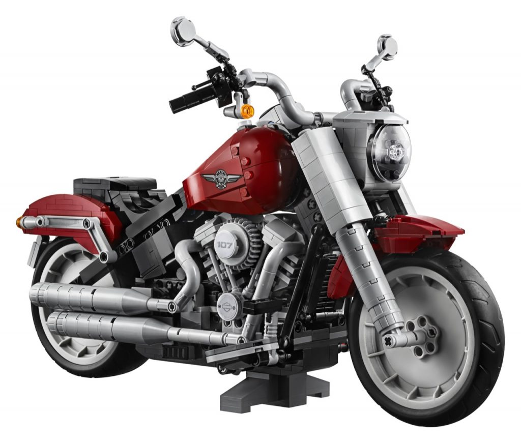LEGO Creator Expert Harley-Davidson Fat Boy - foto
