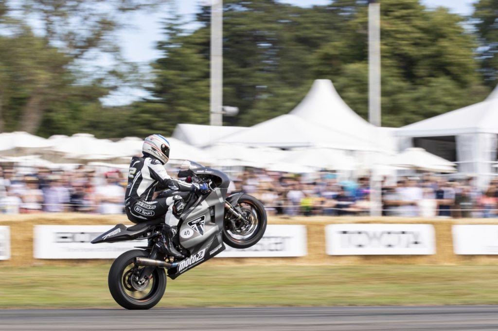 Triumph: al Goodwood Festival of Speed in evidenza un prototipo di Moto2