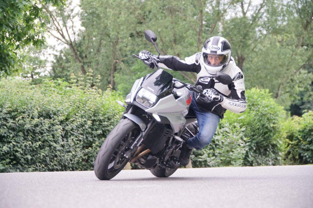 Suzuki Katana - Prova su strada 2019