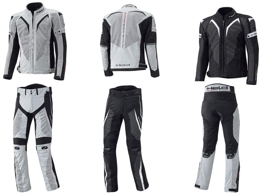 Held: arrivano la giacca Sonic e i pantaloni Vento
