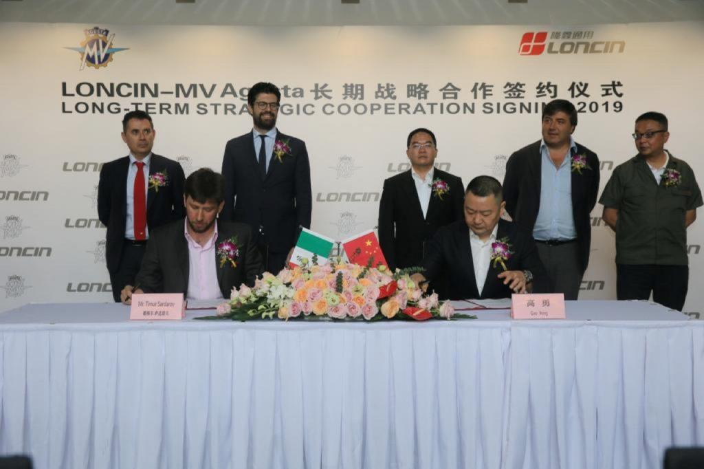 MV Agusta: siglato accordo di cooperazione a lungo termine con Loncin