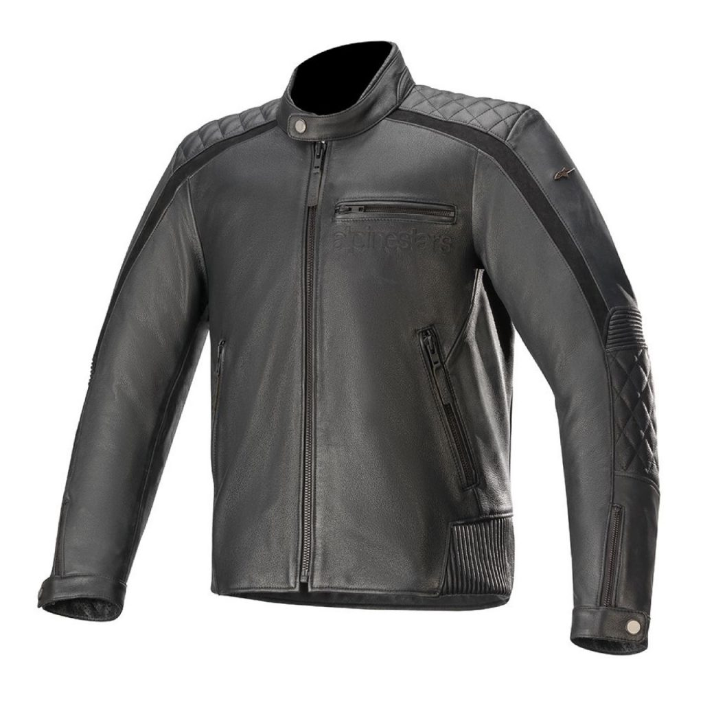 Alpinestars Hoxton v2 Leather Jacket: protezione e un look classico