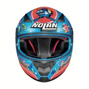 Nolan N60-5 Marco Melandri Aquarium: un casco integrale sportivo, funzionale e colorato