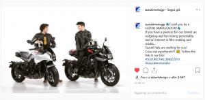 Suzuki: un invito per la selezione dei nuovi Ambassador anche dal Team ECSTAR di MotoGP