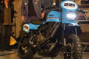 Yamaha XSR700 Violante: la speciale interpretazione firmata Garage 221