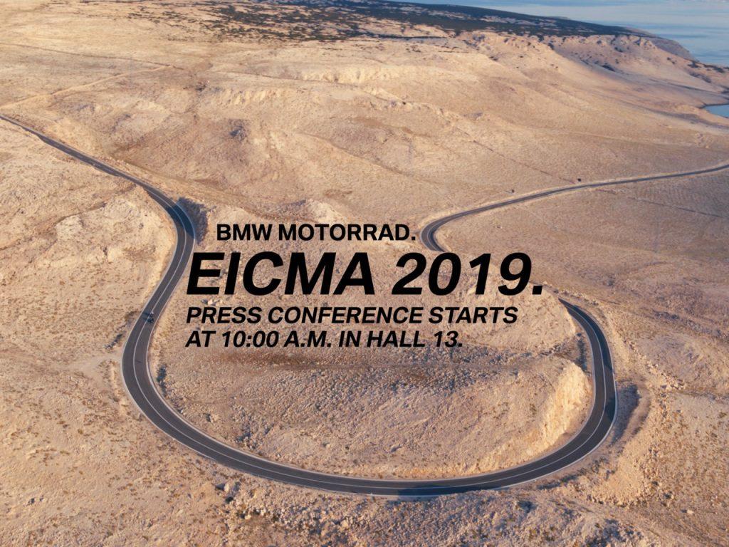 BMW Motorrad: segnalato un nuovo format in vista di EICMA 2019