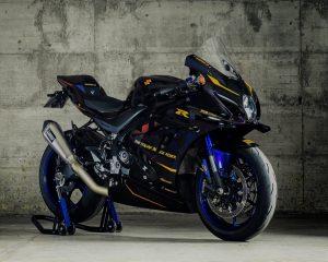Suzuki: una prospettiva della ricercata GSX-R1000R dell'ambassador The Italian Black Rider