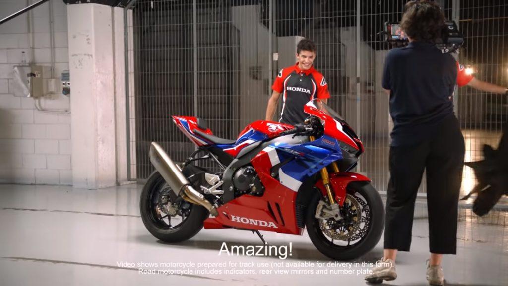 Honda CBR1000RR-R Fireblade: la prova di Marc Marquez [VIDEO]
