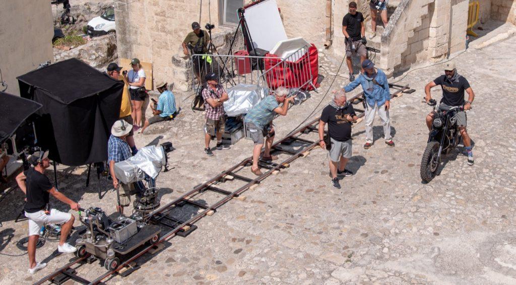 Triumph - partnership in film James Bond No Time To Die