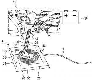 BMW Motorrad: affiora sul web il brevetto di un sistema di ricarica wireless per moto elettriche