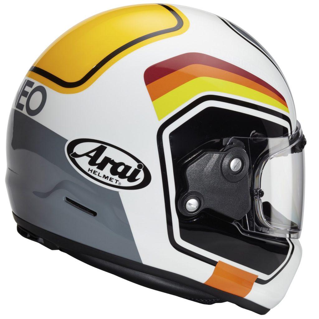 Arai Concept-X Number White: uno stile che richiama gli anni '80