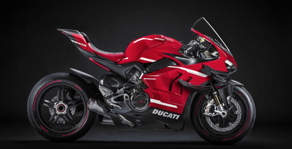 Ducati Superleggera V4: l'essenza sportiva del marchio in una moto potente ed esclusiva [VIDEO]