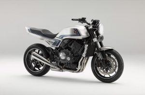 Honda CB-F Concept: un'idea che rimanda alla CB900F degli anni '80