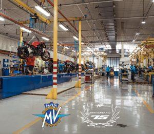 MV Agusta: continua l'attività allo stabilimento con misure di prevenzione e contenimento
