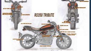 Yamaha Back to the Drawing Board: Ugo Coppola vincitore italiano con la RD350 TRIBUTE