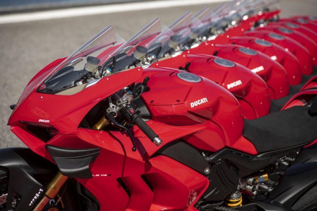 Ducati: test sierologici, pronosticando che si riattivi presto la produzione in sicurezza