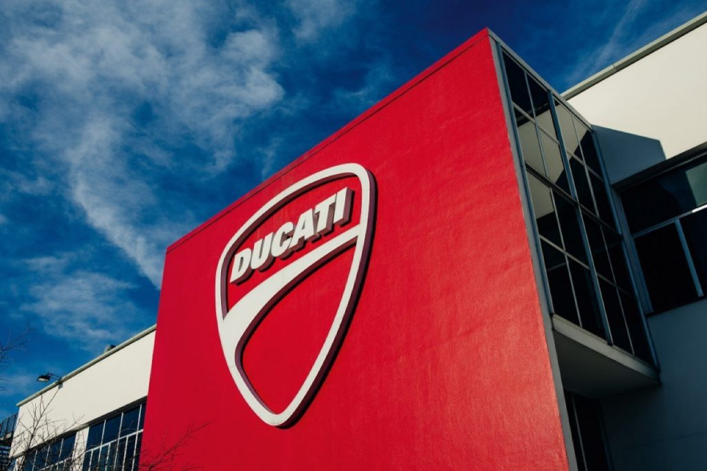 Ducati: riprende progressivamente la produzione