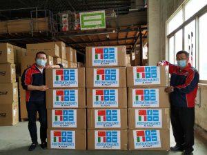 LS2: donate 5200 mascherine agli ospedali di Brescia e Grosseto