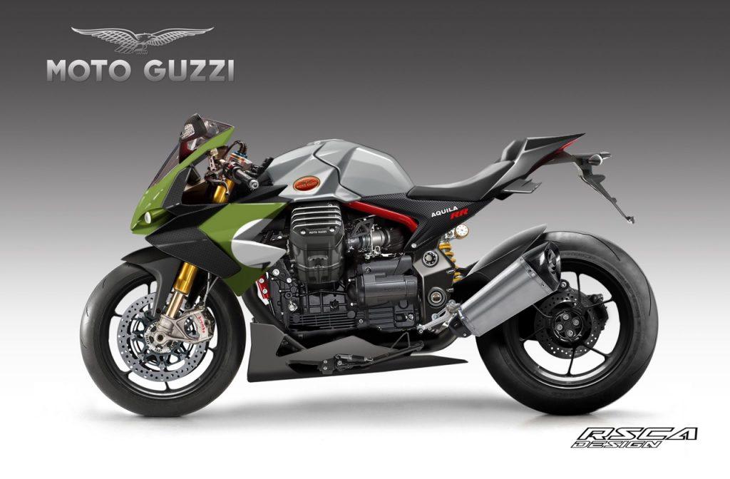 Moto Guzzi Aquila RR: immaginando una nuova sportiva del marchio lombardo [RENDERING]
