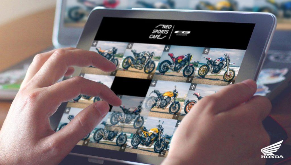 Honda - pagina web e CB1000R customizzate