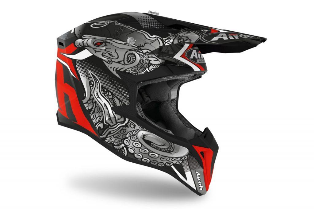 Airoh Wraap: un nuovo casco per gli appassionati di motocross ed enduro