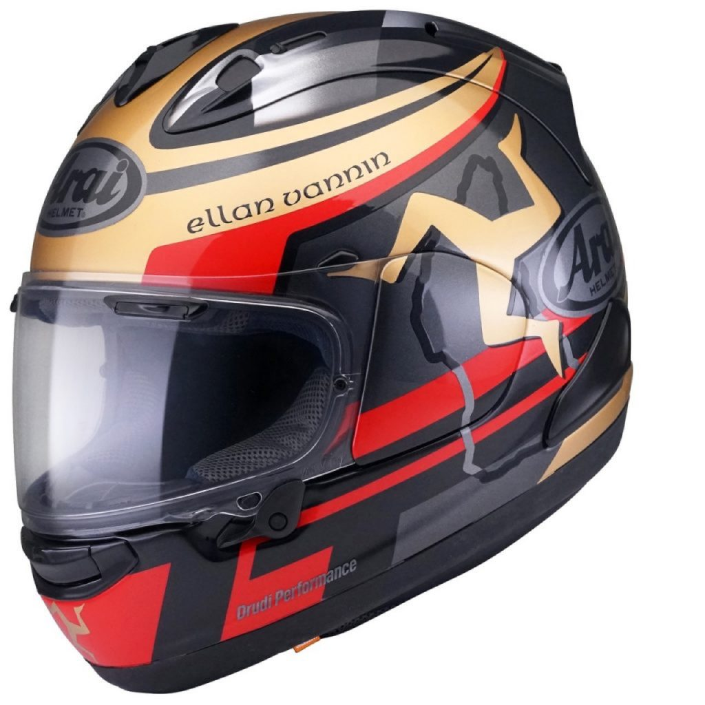 Arai RX-7V IOM TT 2020: casco Limited Edition per appassionati del Tourist Trophy [VIDEO]