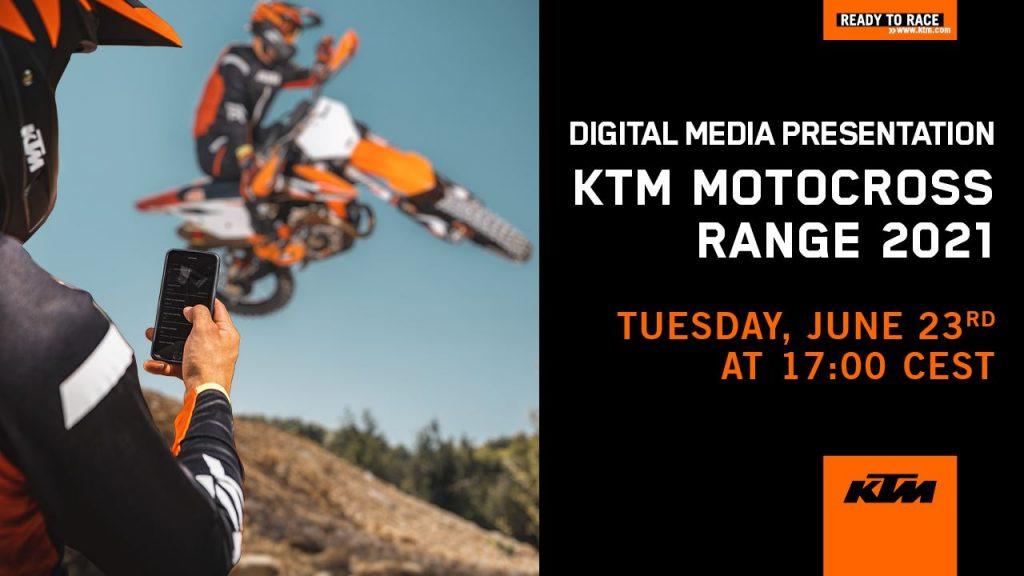 KTM SX 2021: la presentazione della nuova gamma [VIDEO]