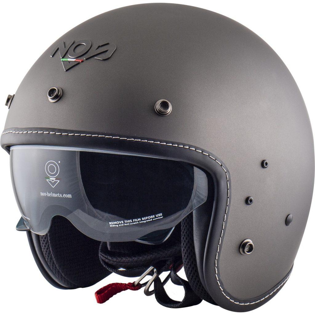 NOS NS-1F: soluzioni funzionali legate a un casco Open Face