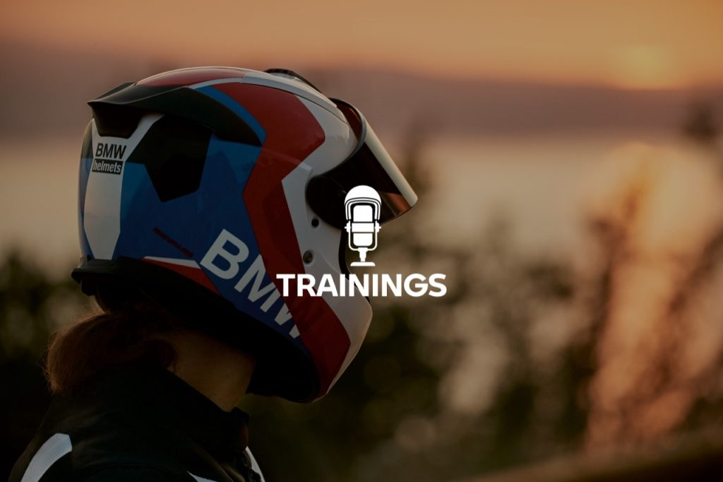 "BMW Motorrad Italia: un podcast ""Trainings"" pensando alla sicurezza dei motociclisti"