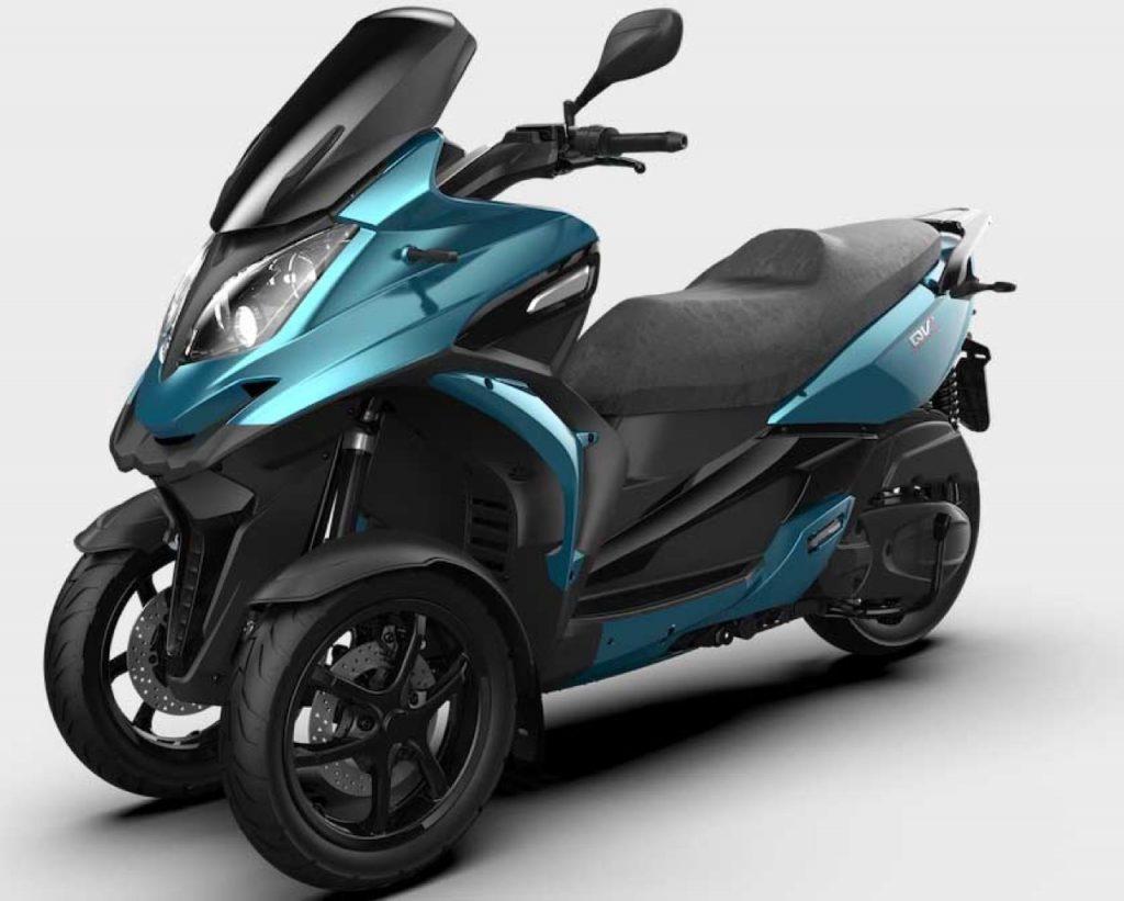 Qooder: QV3 leader tra gli scooter a tre ruote 350 cc in Italia