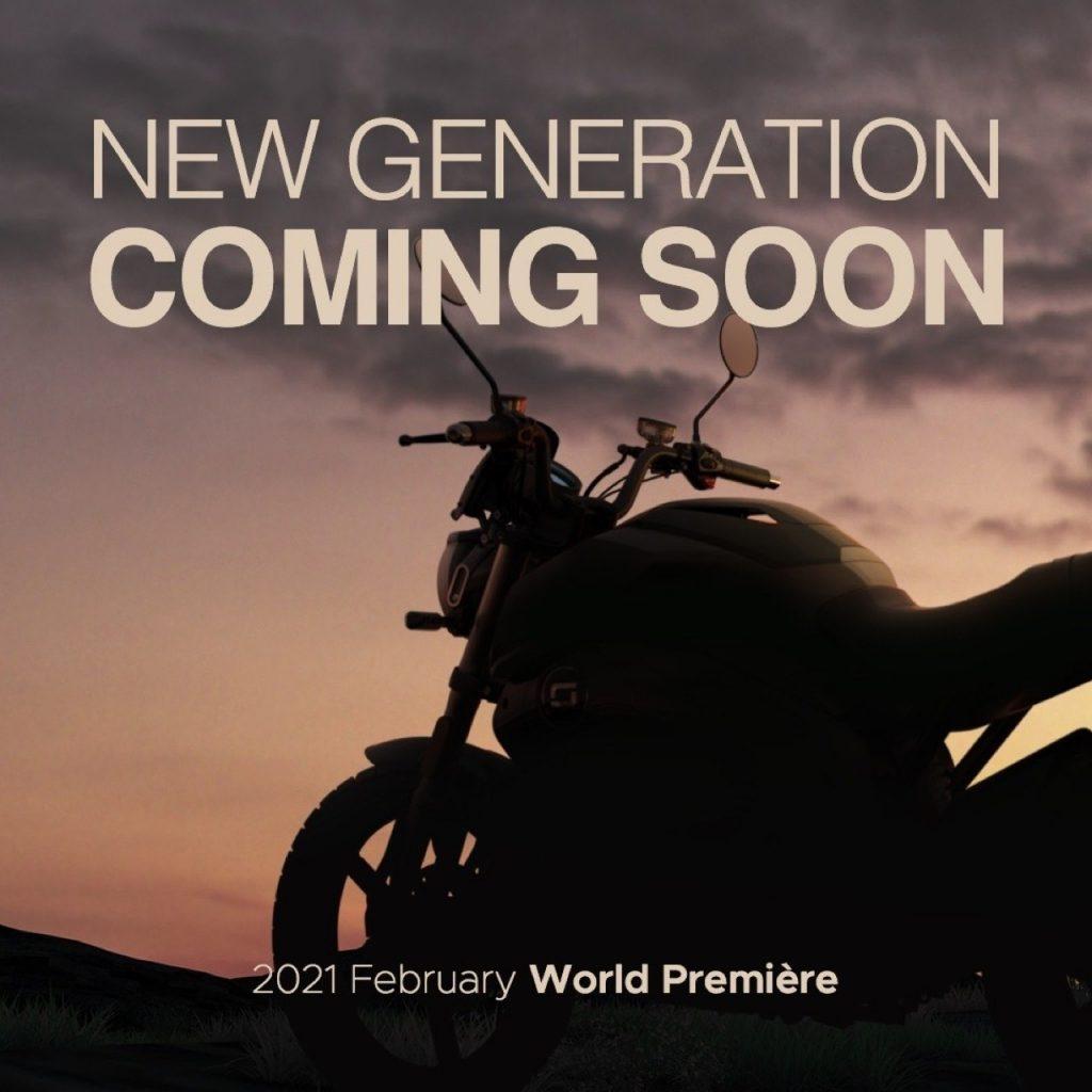 Vmoto Soco Group: un altro teaser verso la World Première 2021 di febbraio