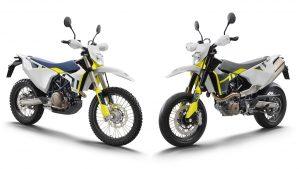 Husqvarna 701 Enduro e 701 Supermoto 2021: estetica e indole rinnovate [FOTO]