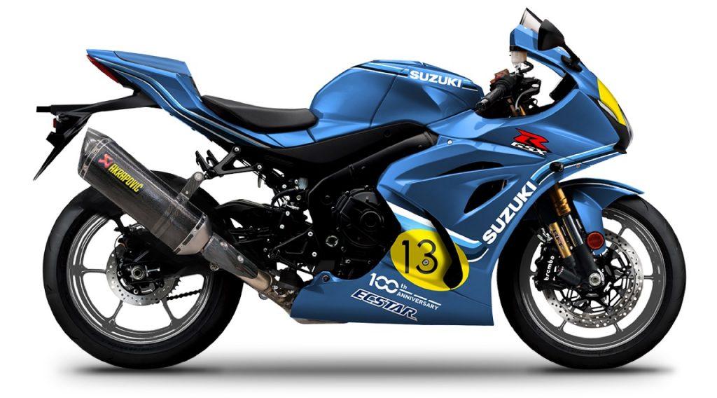 Suzuki GSX-R1000R Legend Edition: i colori che ricordano il successo di Franco Uncini [FOTO]