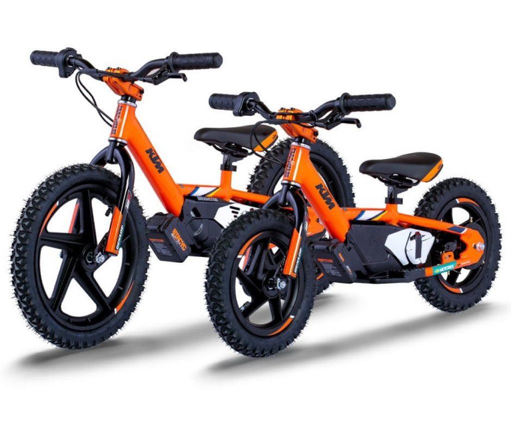 KTM Stacyc Factory Replica: balance bike con motore elettrico [FOTO]
