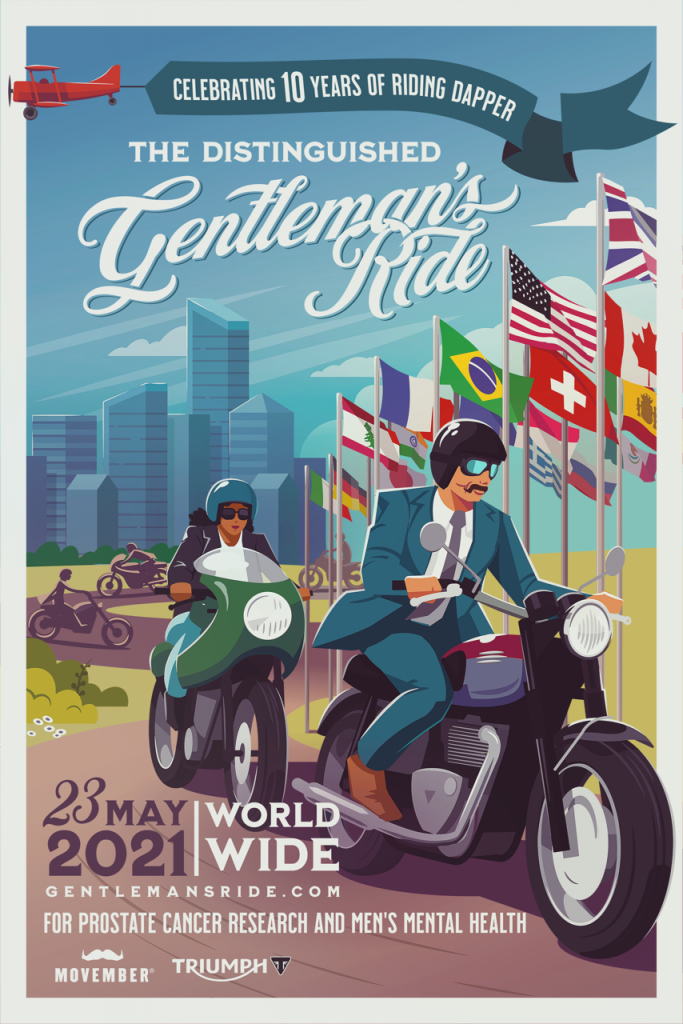 Triumph e The Distinguished Gentleman's Ride: il decimo anniversario dell'evento