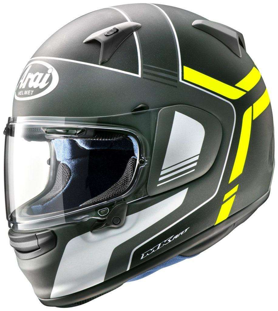 Arai Profile-V: un casco protettivo con un aspetto sportivo
