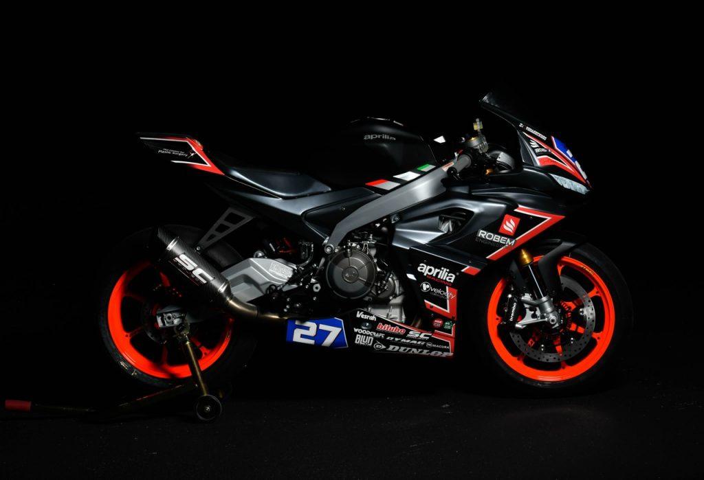 Aprilia RS 660: una nuova sfida nel campionato MotoAmerica [FOTO]