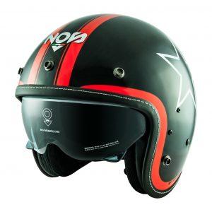 NOS NS-1F: un distintivo casco Open Face