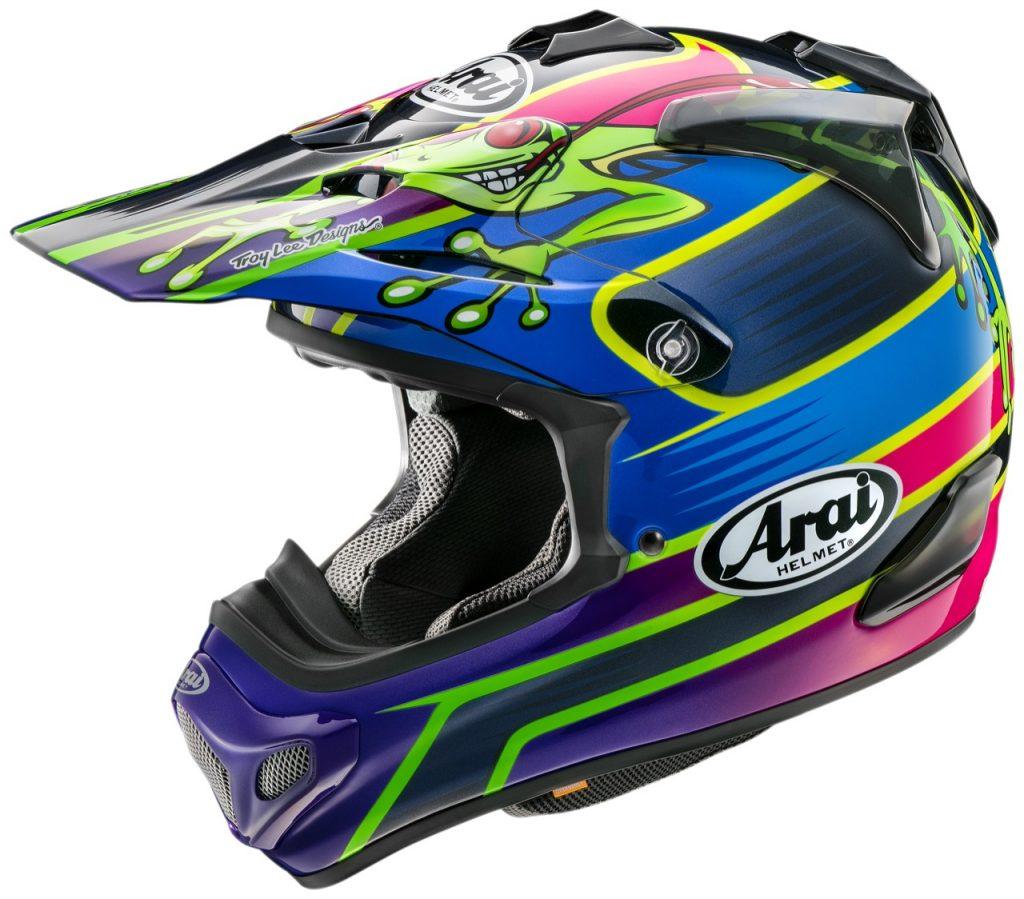Arai MX-V: un casco da fuoristrada con un design funzionale